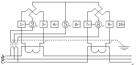 ts6607,dss6607 三相485通讯接口电表遵义 直销